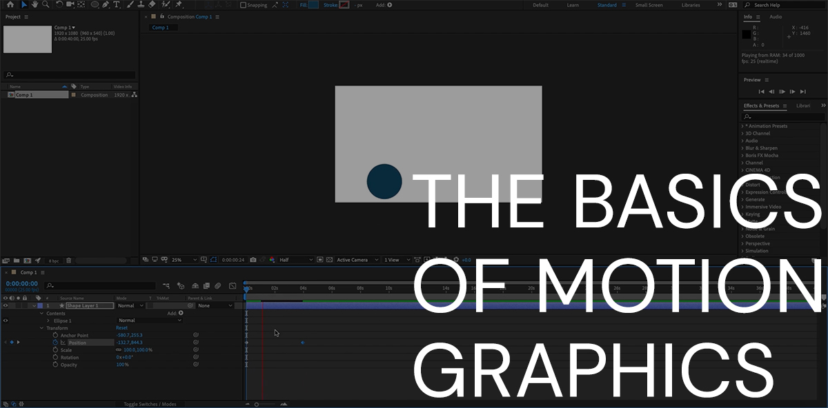 Basics of Motion Graphics thumbnail