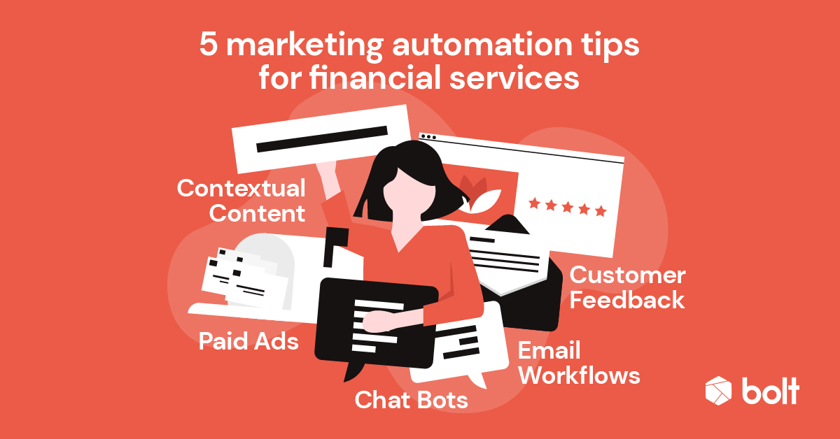 Marketing automation tips for financial services